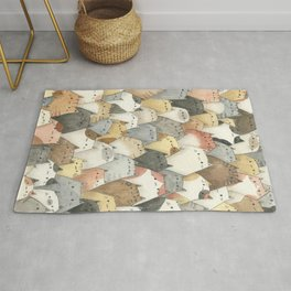 Sea of Cats Rug