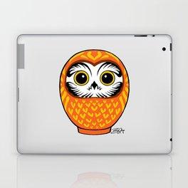 Orange Fukuro Daruma Laptop & iPad Skin