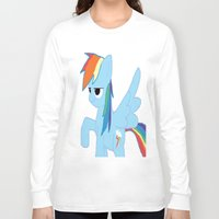 pony Long Sleeve T-shirts featuring pony by Dore