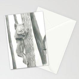 Climbing bear Stationery Cards