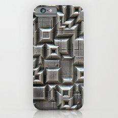 Textured Space Tiles Slim Case iPhone 6s
