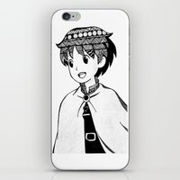 anime iPhone & iPod Skins featuring ANIME by PROXIMO