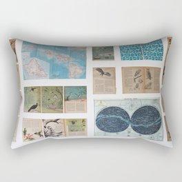 of birds and travels Rectangular Pillow