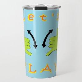 ASL Let's PLAY! Travel Mug