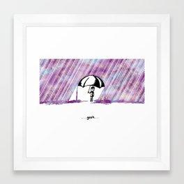...gosh... Framed Art Print