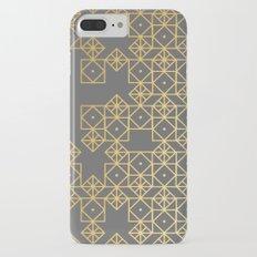 Geometric Gold iPhone 7 Plus Slim Case