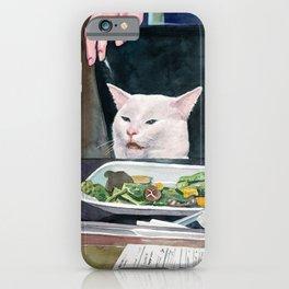 Woman yelling at cat meme #18 iPhone Case
