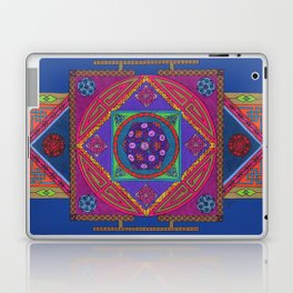 Just Another Roll of the Dice (Blue) Laptop & iPad Skin