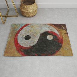 Yin Yang Dragon Rug
