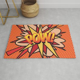 Comic Book POW! Rug