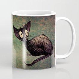 Black Oriental Cat Coffee Mug