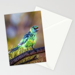 Mallee Ringneck Parrot Stationery Cards