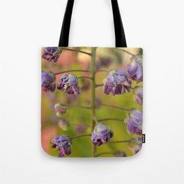 Purple Botanica Tote Bag
