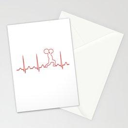 GYM HEARTBEAT Stationery Cards