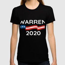 Vote 2020 Warren design T-shirt