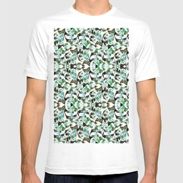 Aztec Floral Pattern T-shirt
