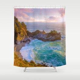 Magical Cove, Big Sur II Shower Curtain