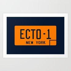 Ecto-1 Art Print