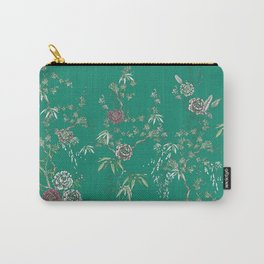 Chinoiserie Garden Carry-All Pouch