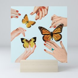 Social Butterflies Mini Art Print