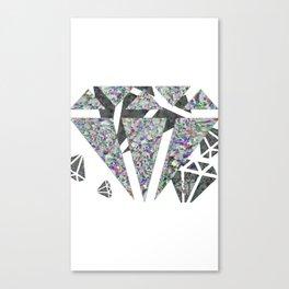 Dead diamonds Canvas Print