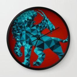 Geometric Chimera Wall Clock