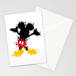 Mickey Mouse Paint Splat Magic Stationery Cards