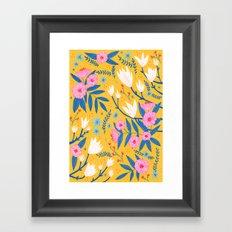 Magnolias and Camellias! Framed Art Print