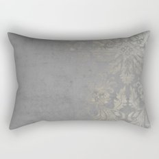 Grunge Damask Rectangular Pillow