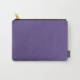 Ultra Violet Wave Pattern Trendy Color 2018 Carry-All Pouch