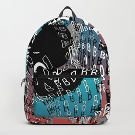 For Type Lovers. B for bubbles. Backpack
