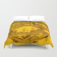 hook Duvet Covers featuring Hook  by Anne Powers