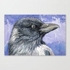 Storm Raven C013 Canvas Print