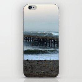 Ventua Ocean Wave Storm Pier iPhone Skin