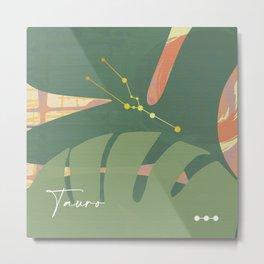 Tauro design Metal Print