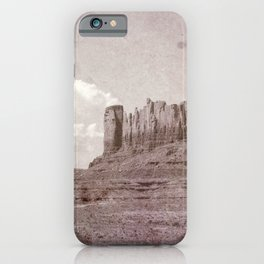 Old West Monument Valley iPhone Case