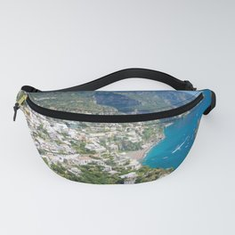 Photo seascape Amalfi Coast Italy Fanny Pack