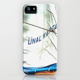 The Sails Of Unal Kaptan iPhone Case