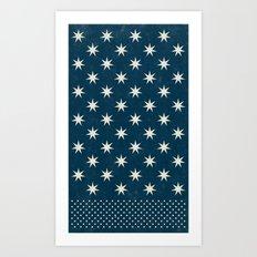 star dot Art Print