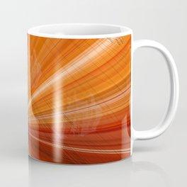 Grunge Background orange Coffee Mug