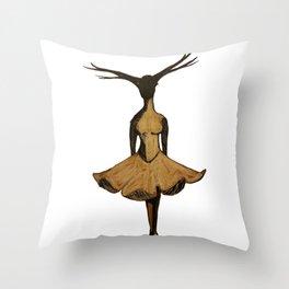 Tree Dancer Throw Pillow