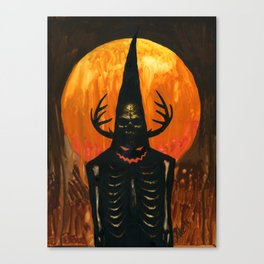 Autumn Acolyte Canvas Print