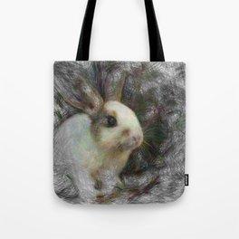 Artistic Animal Bunny 2 Tote Bag