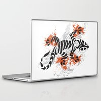 lizard Laptop & iPad Skins featuring Lizard by Sitchko Igor