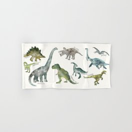 Dinosaurs Hand & Bath Towel