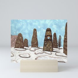 The Steed Stone Mini Art Print