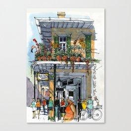 Royal Street New Orleans Canvas Print