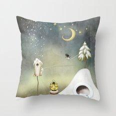 Dreamery III Throw Pillow