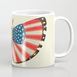 patriot moth (ORIGINAL SOLD). Coffee Mug