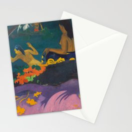 Fatata te Miti, Paul Gauguin, 1892 Stationery Cards